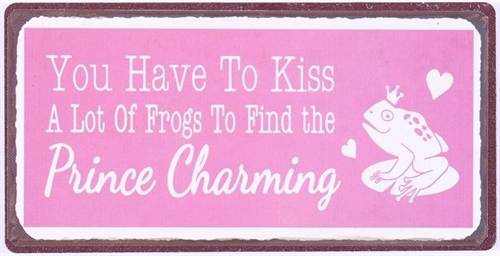 Magnet - You have to kiss a lot of frogs to find prince charming