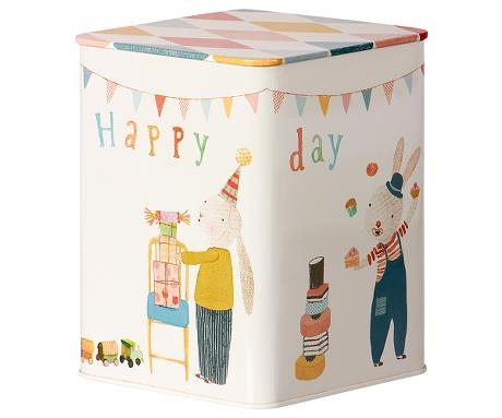 Maileg  HAPPY DAY BOX, METAL